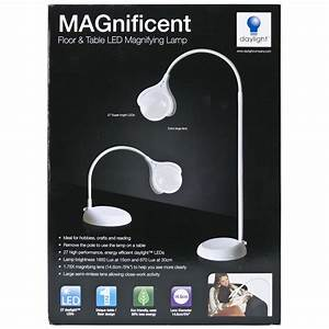 Daylight magnificent floor and table led magnifying lamp for Led magnifying floor lamp white