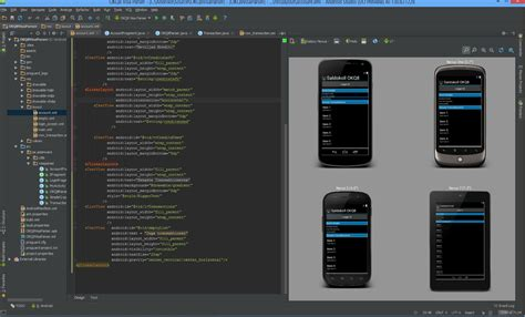 android studio android studio v0 1 yay is co operating with
