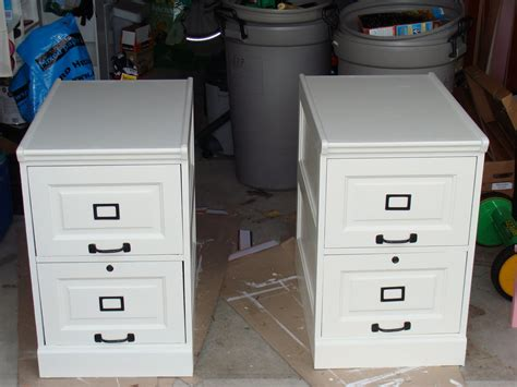 desk file cabinet wood pottery barn inspired desk transformation ikea hackers