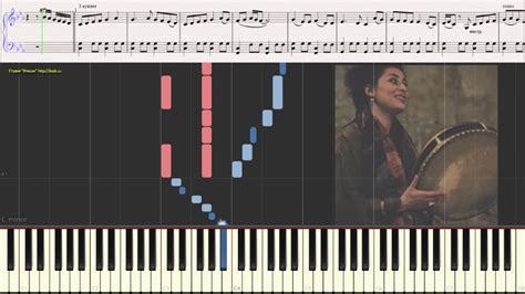 Hija Mia (Ноты и Видеоурок для фортепиано