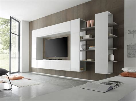 Modern Living Room Wall Units