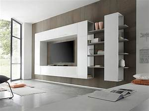 modern living room wall units With modern wall unit designs for living room