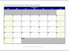 Editable Calendar Templates For Word Free Calendar Template