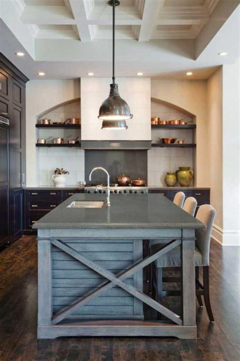 ilot cuisine palette fabriquer un îlot de cuisine 35 idées de design créatives