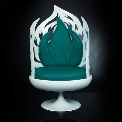 Swivel Pod Chair Uk by Luxury White And Green Swivel Pod Chair