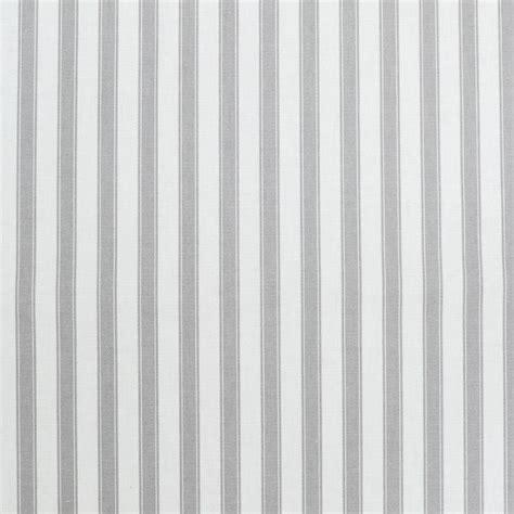 ticking stripe grey valance remnant