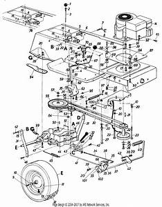 Mtd Mtd Lawnflite 136 3z459 Parts Diagram For