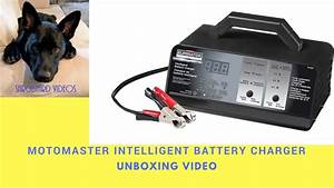 Motomaster Eliminator Intelligent Battery Charger Manual