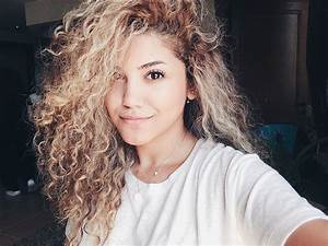 Dyed blond natural curls via curly hair of girls | tangled ...