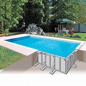 Piscine Pas Cher Tubulaire : piscine en kit enterr e pas cher ~ Dailycaller-alerts.com Idées de Décoration