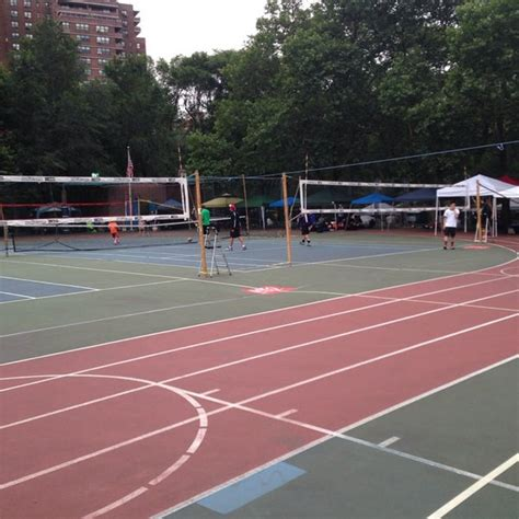 seward park tennis courts  east side  tip