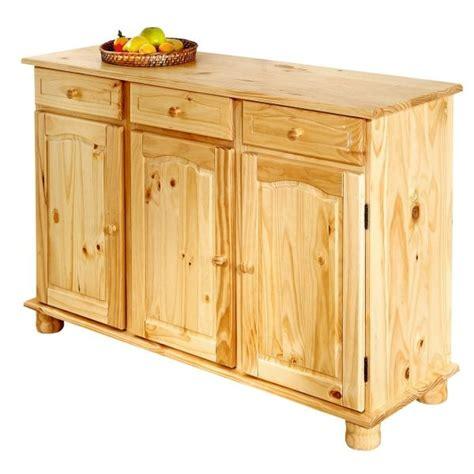meuble de cuisine en bois pas cher buffet de cuisine en bois le bois chez vous
