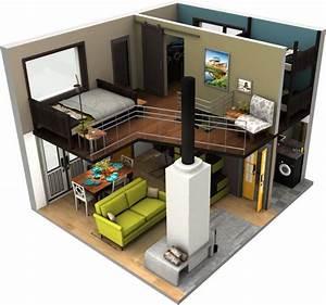 แบบบ้านสองชั้นขนาดเล็ก ที่นำเสนอในรูปแบบ 3D | แบบบ้านสอง ...