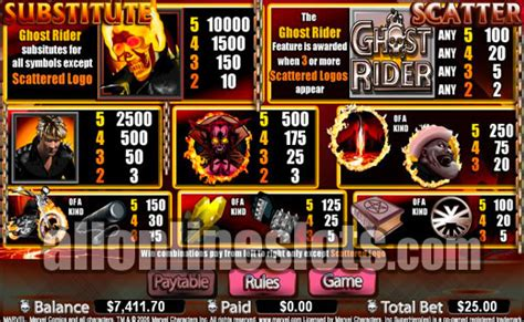 marvel jackpot slots ghost rider review