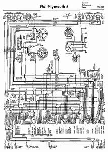 Wiring Diagrams Of 1961 Plymouth 6 Savoy Belvedere And