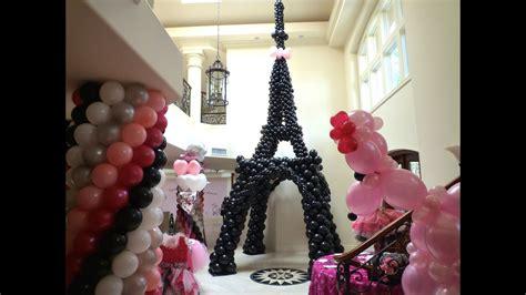 pink poodle  paris theme birthday decoration dreamark
