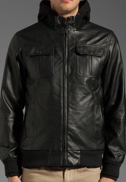 foto de Obey Rapture Jacket in Black for Men Lyst