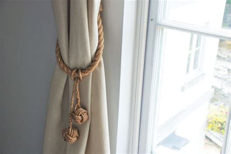 Manila Rope Hanging Monkey Fist Knot Removable Tassel