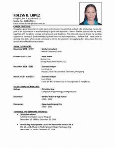 Housekeeper Resume Objective Roelyn B