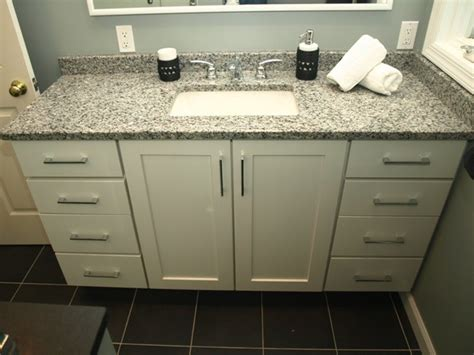 white bathroom vanity with granite top decor ideasdecor