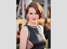 Michelle Dockery shows side boob at SAG Awards Magazine