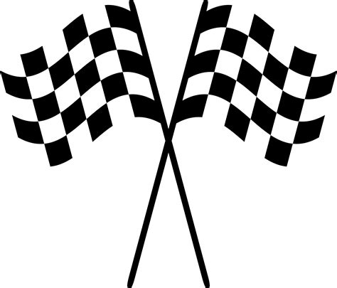 checkered flag icon clipart    clipartmag