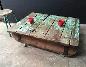 Ancienne Palette Table Basse