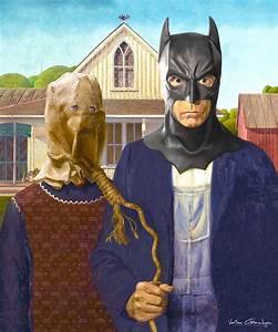 Des tableaux célèbres revisités dans l'univers de Batman