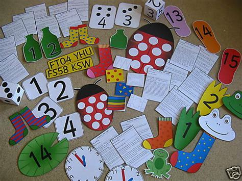 Outdoor Maths Teaching Resources On Cd Games  Eyfs  Outdoor Play Ebay