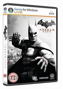 Batman  Arkham City Pc Box Art
