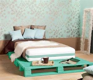 Diy Pallet Bed - Your Own Creativity Ideas 101 Pallets