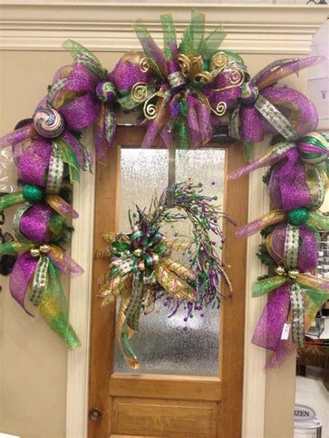 Mardi Gras Door Decorations by Mardi Gras Door Decor Ideas