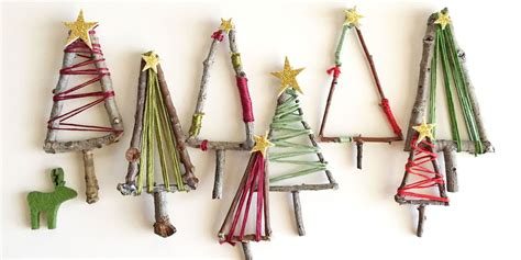 mini christmas tree decorations mini twig