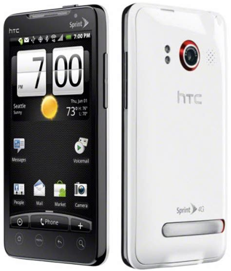 cheap boost phones htc evo design 4g android boost mobile smartphone used htc evo 4g android smartphone in white for sprint pcs