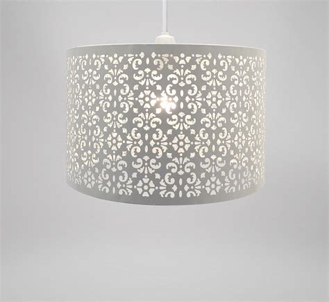 Laser Cut L Shade Uk by Large Metal Laser Cut Chandelier Universal Ceiling Light