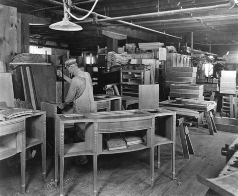 furniture manufacturing forest history society