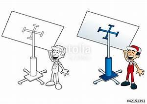 Outils De Plaquiste : plaquiste avec l ve plaque fichier vectoriel libre de ~ Edinachiropracticcenter.com Idées de Décoration