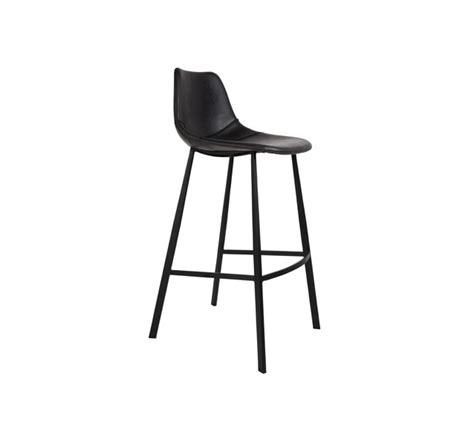 chaise de bar noir chaise ou tabouret de bar assise cuir noir