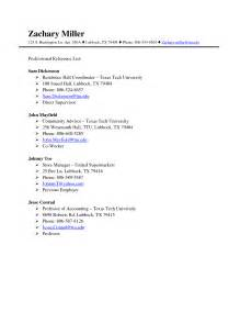 resume with personal references exle reference list template free excel templates