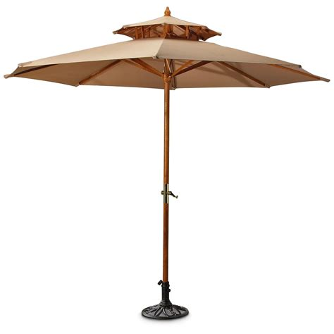 decorative iron umbrella base black 155726 patio