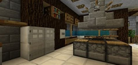 Minecraft Modern Kitchen Ideas by Come Make A Functioning Kitchen In Minecraft This Saturday