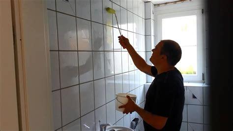 wc renovieren teil fliesen mit spezial haftgrund