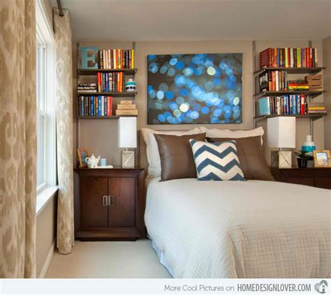 15 Ideas In Designing A Bedroom With Bookshelves House