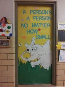 dr seuss door decoration school yeah pinterest