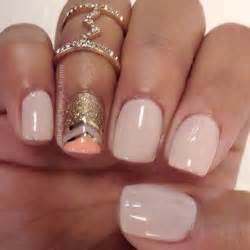 Gold and nude nail art design ideas trendy mods
