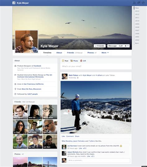 Facebook Announces 'Timeline' Profile Pages Getting a New ...