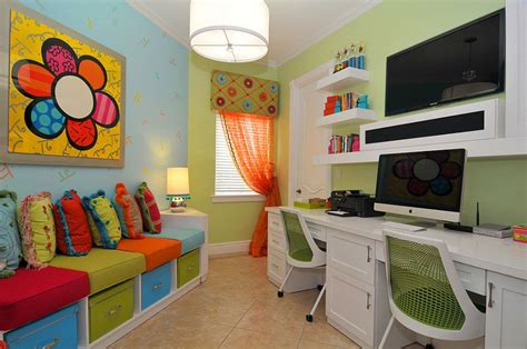 playroom ideas pictures multipurpose magic creating a smart home office and playroom combo