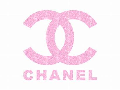 Chanel Coco Pink Glitter Girly Heart Logos