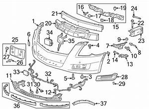 Cadillac Xts Parking Aid System Wiring Harness  2013 Park Sensor  W  O Auto Brake