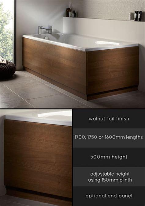 Wooden Bath Panels   Wood Bath Panel   Walnut Bath Side Panel